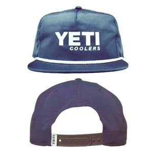 Yeti Coolers Rope Hat - Navy